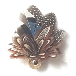 Small Feather Brooch/Hat Pins